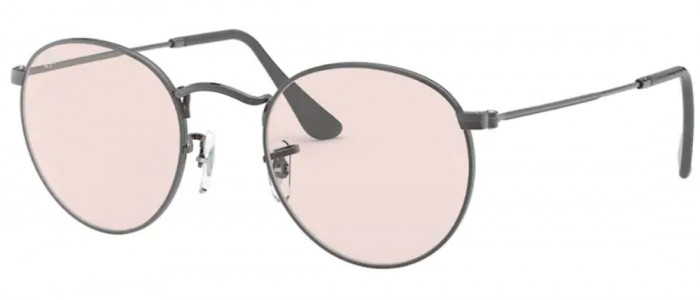 Ray-Ban RB3447 004/T5 Round Metal