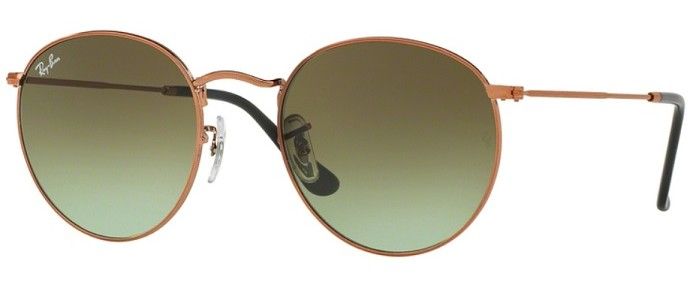 Ray-Ban RB3447 9002/A6 Round Metal