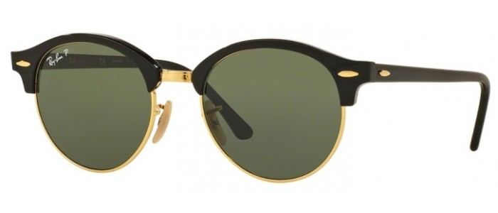Ray-Ban RB4246 901/58 Polarizada ClubRound