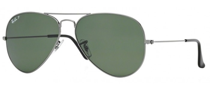 Ray-Ban RB3025 004/58 Aviator Large Metal Polarizada