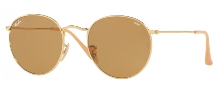 Ray-Ban RB3447 9064/4I Round Metal Fotocromática