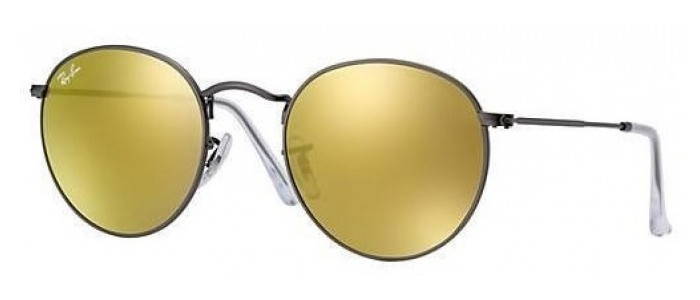 Ray-Ban RB3447 029/93 Round Metal