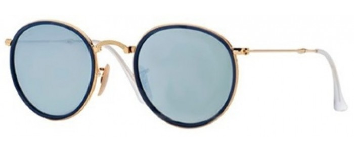 Ray-Ban RB3517 001/30 Round Folding Classic